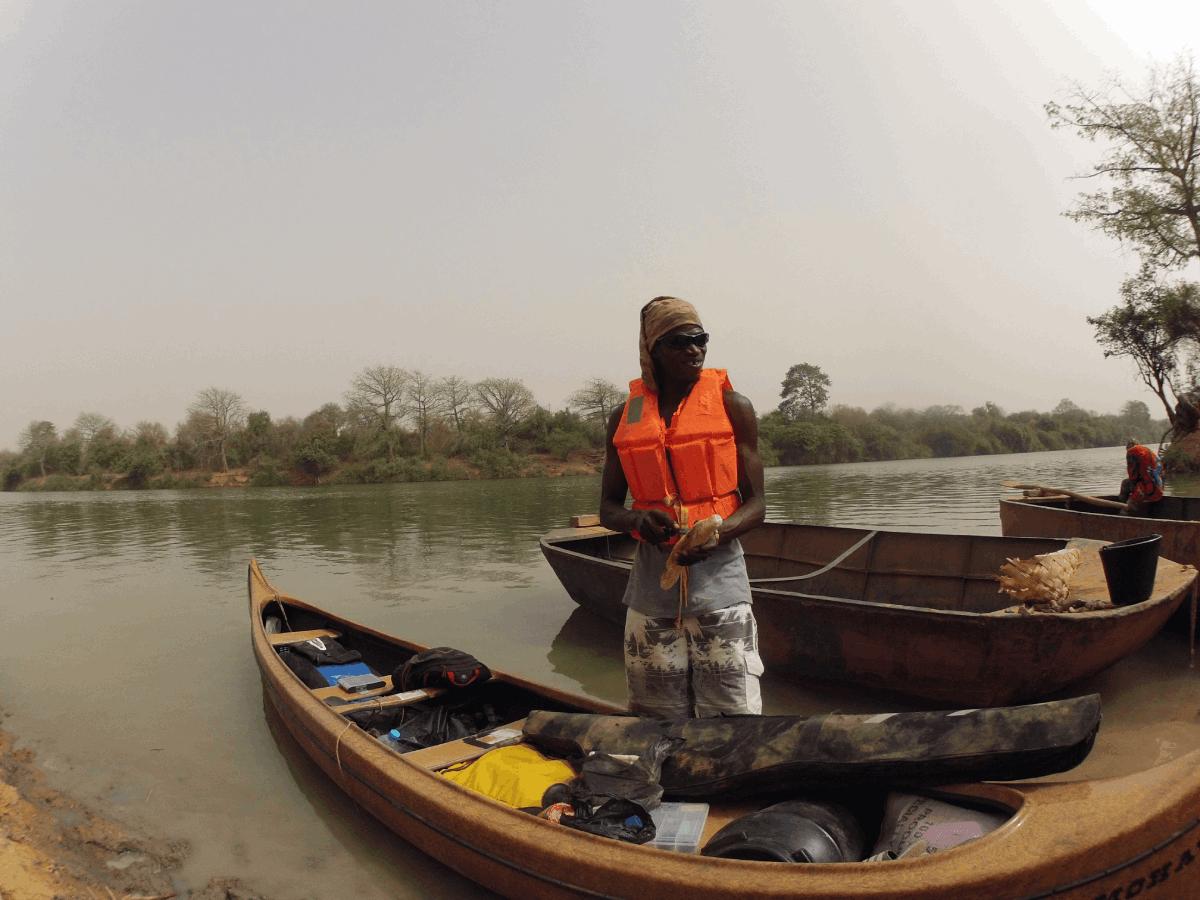 expedition river gambia kevin de zwart