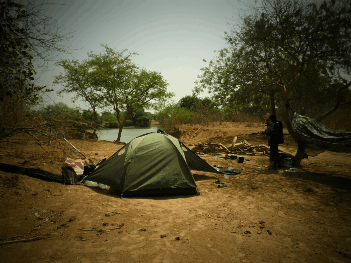 camp expedition gambia